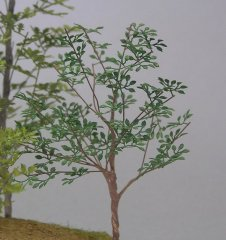 Kamizukuri A-7-48: 1/48 Brush leaves