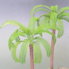 Kamizukuri A-26: 1/48 Palm Tree leaves
