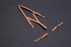 Kamizukuri FP-32HD: 1/32 RAF WWII Fighter High Detail Seatbelts x2