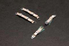 Kamizukuri FP-33HD: 1/32 Luftwaffe WWII Fighter High Detail Seatbelts x2