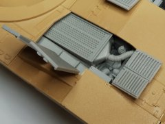 MP Originals 48004: 1/48 M1A2 Abrams engine filter