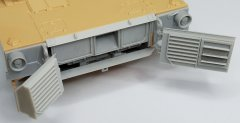 MP Originals 48005: 1/48 M1A2 Abrams rear doors,exhaust and radiators