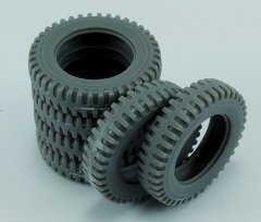 MP Originals A48005: 1/48 Spare Tires for US 2.5t 6x6 Truck