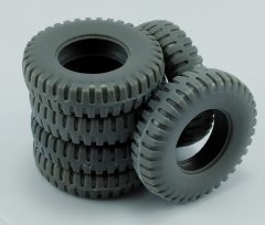 MP Originals A48006: 1/48 Spare Tires for US M8 and M20