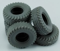 MP Originals A48007: 1/48 Spare Tires for US Hummer