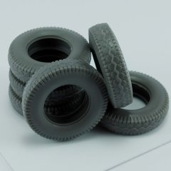 MP Originals A48010: 1/48 Spare Tires for German SS-100