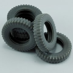 MP Originals A48011: 1/48 Spare Tires for German Sd.kfz.251