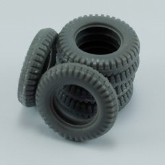 MP Originals A48012: 1/48 Spare Tires for Volkswagen Type 82E