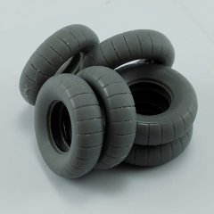 MP Originals A48013: 1/48 Spare Tires for Kubelwagen Type 82