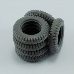 MP Originals A48014: 1/48 Spare Tires for Schwimmwagen Type166