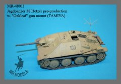 "MR Modellbau MR-48011: 1/48 Hetzer pre-production conversion w ""Oakleaf"" gun mount"