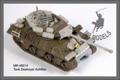 MR Modellbau MR-48014: 1/48 Achilles Mk.II tank destroyer conversion