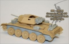 MR Modellbau MR-48044: 1/48 Crusader Mk.II close support & command tank