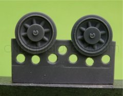 OKB S48058: 1/48 Wheels for Pz.IV, Ausf.A-D