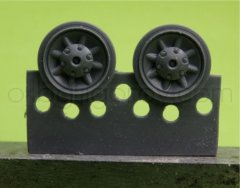 OKB S48059: 1/48 Wheels for Pz.IV, Ausf.E-J