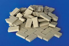 Plus Model 4010: 1/48 Paving Panels - Weathered Sandstone