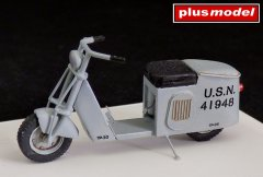 Plus Model 4012: 1/48 US Scooter - Solo