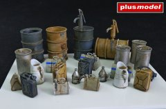Plus Model 4022: 1/48 Fuel-Stock Equipment - Germany WWII