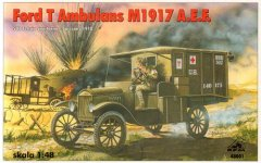 RPM 48001: 1/48 Ford T Ambulance M1917 A.E.F.