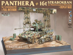 Suyata NO001: 1/48 Panther A with 16T Strabokran