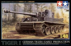 Tamiya 32504: 1/48 German Tiger I Early Tank