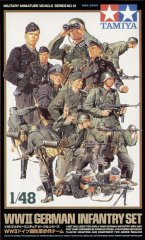 Tamiya 32512: 1/48 WWII German Infantry (15)