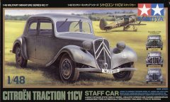 Tamiya 32517: 1/48 Citroen Traction 11CV Staff Car