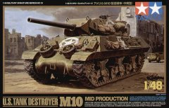 Tamiya 32519: 1/48 US M10 Mid Tank Destroyer