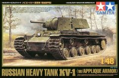 Tamiya 32545: 1/48 Russian KV-1 Heavy Tank with Applique Armor
