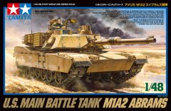 Tamiya 32592: 1/48 US M1A2 Abrams Main Battle Tank