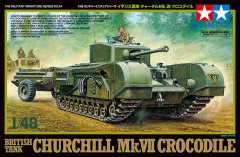 Tamiya 32594: 1/48 British Churchill Mk.VII Crocodile Tank