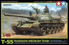 Tamiya 32598: 1/48 Russian T-55 Medium Tank