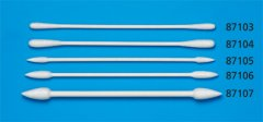 Tamiya 87106: Craft Cotton Swab - Small Triangular Tip (50)