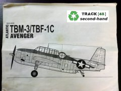 Accurate Miniatures 7803: 1/48 TBM-3 Avenger