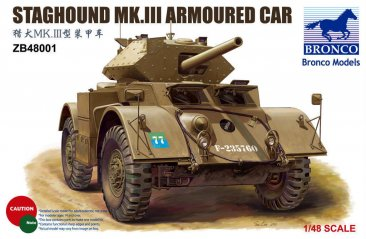 Bronco ZB48001: 1/48 Staghound Mk.III