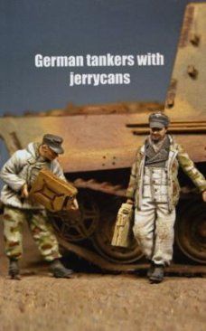 Dartmoor MM 48M022: 1/48 German Tankers with Jerrycans WWII