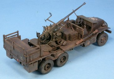 GasoLine GAS48054K: 1/48 GMC 40mm Bofors 2e DB 22e FTA