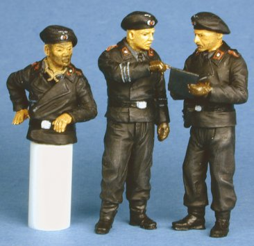 GasoLine GAS50330: 1/48 German tank crew 1939-41