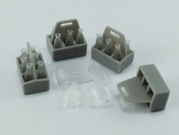 MP Originals A48048: 1/48 Milk Bottles and Boxes