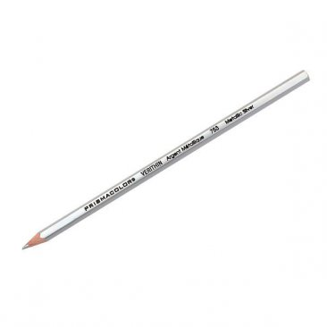 Prismacolor Verithin 753 Metallic Silver Pencil (1+1)
