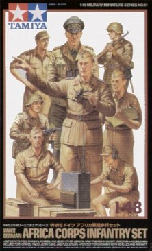 Tamiya 32561: 1/48 WWII German Africa Corps Infantry (8)